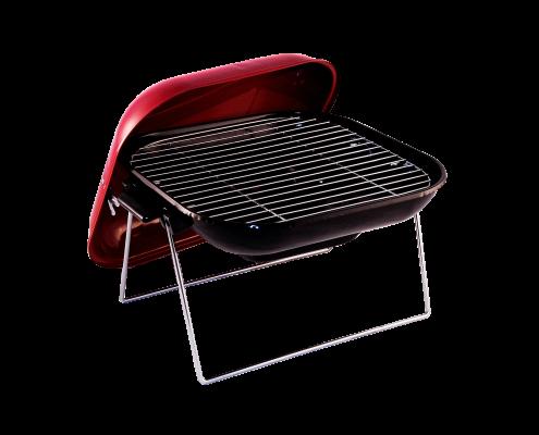 Vierkante lage barbecue