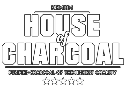House of charcoal Logo wit